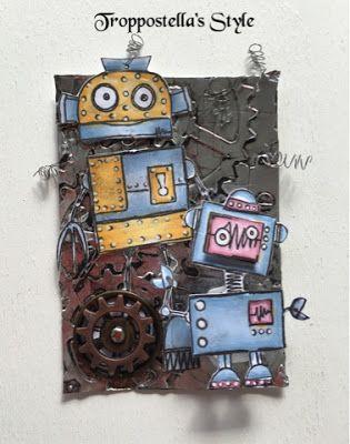 Troppostella's Style: ATC: di 8 in 8!!! - Seconda taggata vincolo: ROBOT...