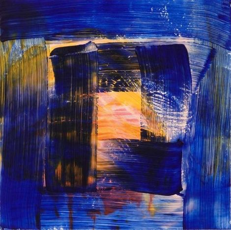 Howard Hodgkin, Cold - 2012 on ArtStack #howard-hodgkin #art