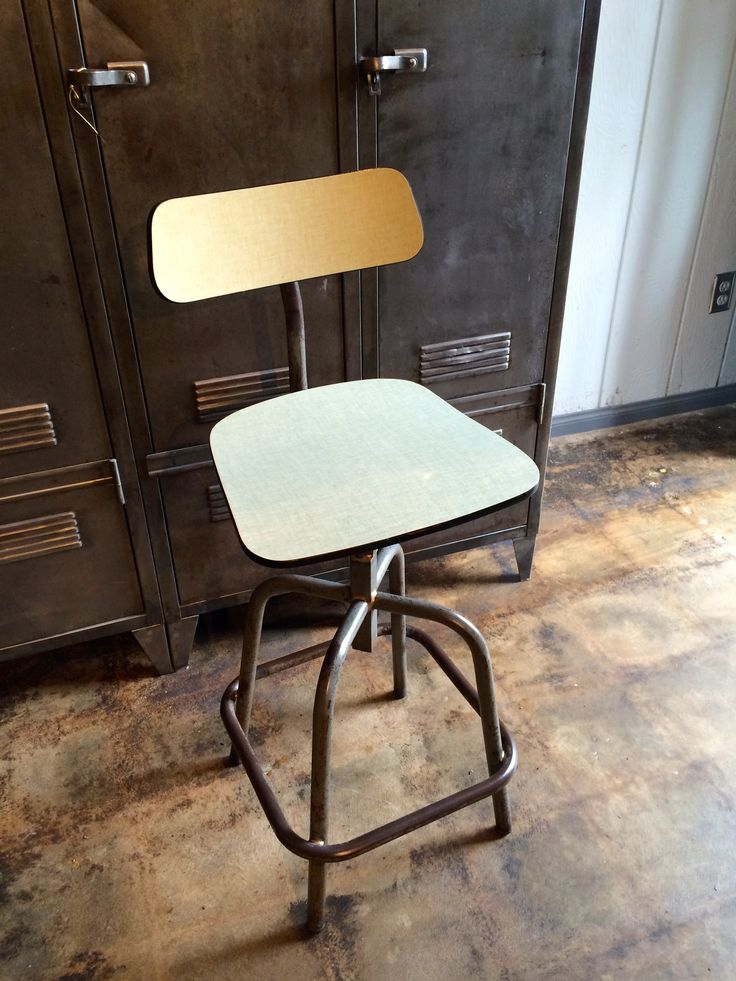 Captivating Our New Custom Made Industrial Formica Stool! Los Angeles, CA 90041