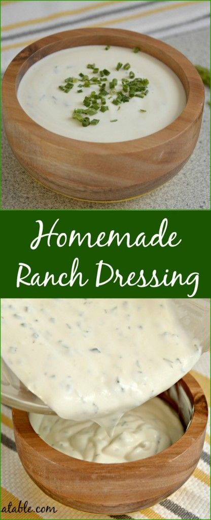 This homemade ranch is better than anything you can buy in the store and it is so simple to make too!