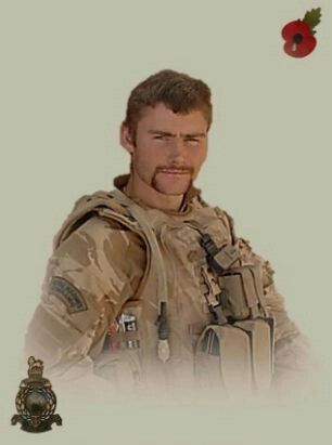 Paul Woodland, Royal Marine Commando —killed during SBS training exercise off Staunton sands, Devon. The RIB(Rigid inflatable Boat) he was in capsized, and he was trapped underneath and lost his life.