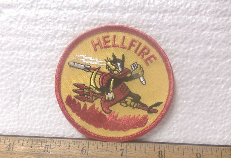 US Marine Corps - Hellfire Embroidered Patch