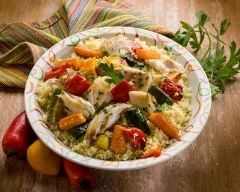 Couscous au poisson et légumes REALISé oct. 2016 TBON Réalisé avec des filets de sabre
