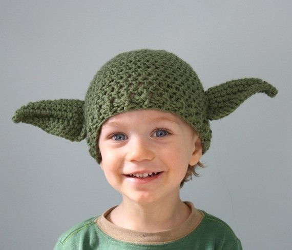 Yoda This Hat Is by MaryOriginals on Etsy, $26.00Yoda Hats, Crochet Hats, Baby Halloween Costumes, Stars Wars, Kids,  Ten-Gallon Hats, Knits Hats, Cowboy Hats, Crafts