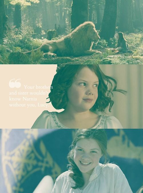 The Pevensies: Lucy Pevensie, Queen Lucy The Valiant ♥ The name Lucy actually means light. She was a light to her siblings.