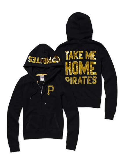 My fiancé would love if I would wear this but I will always love the Giants pirate will always be third favorite in baseball teams