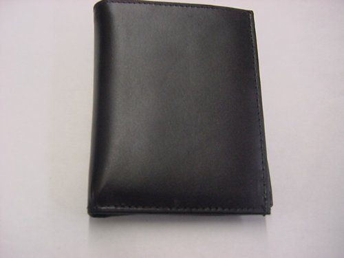 Tri Fold Police Wallet with Badge Holder by YBMDESIGNINC. $19.85. This is a genuine leather tri fold wallet with a round badge holder. The diameter for the badge is 2 1/2. The whole wallet measures 4 3/4 X 3 1/2. Great gift!