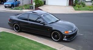 95 Honda Civic coupe