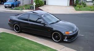 95 Honda Civic coupe