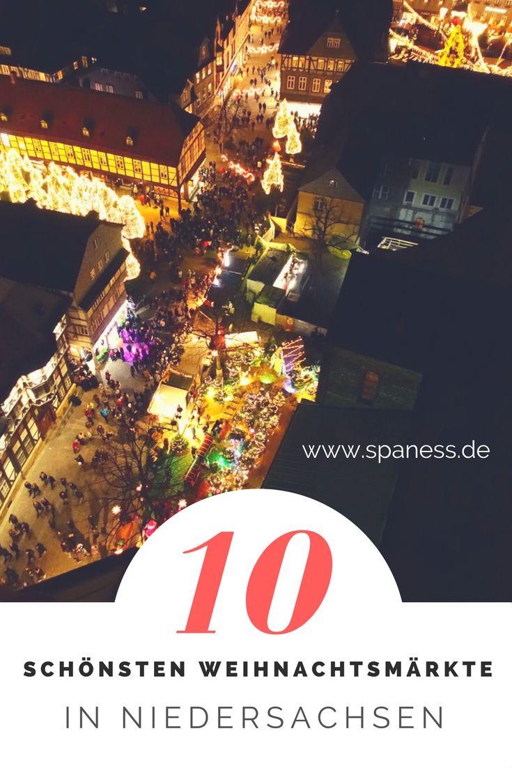 Städte Reise - Die 10 schönsten Weihnachtsmärkte Niedersachsen // Die schönsten Weihnachtsmärkte in Niedersachsen // Weihnachtsmarkt Braunschweig / Weihnachtsmarkt Goslar / Weihnachtsmarkt Lüneburg u.v.m.