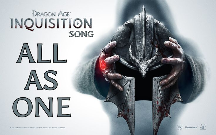 DRAGON AGE INQUISITION SONG - All As One by Miracle Of Sound - posted 12-05-14 on youtube