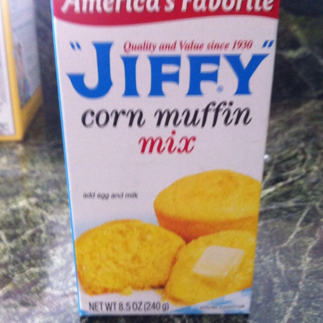 THE BEST corn pudding ever and so easy!! 1 can corn, drained, 1 can creamed corn, 1 cup sour cream, 1 stick butter, 2 eggs, 1 tbs sugar, 1 package of Jiffy cornbread mix. Mix all ingredients together well and pour into baking dish. Bake at 350 degrees for 45 min. Serves 10-12