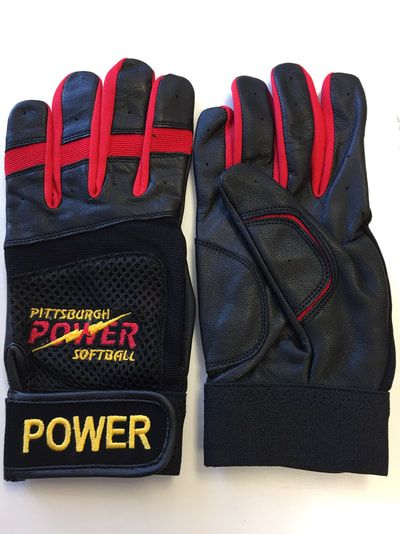 f3e5f48173596 Custom batting gloves personalized with your team logo. Send us your logo  and we design