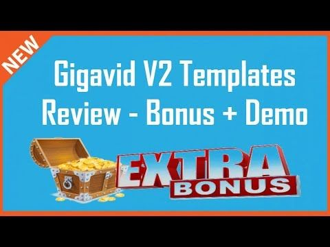 Gigavid V2 Templates Review | Gigavid V2 Templates Bonus - YouTube