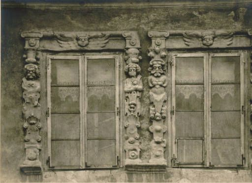 [Windows in Lublin] :: Jan Bulhak Collection :: Digital Collections :: University at Buffalo Libraries. Click the image to visit the University at Buffalo Libraries Digital Collection and learn more about the photograph. #ublibraries #polishroom #JanBulhak #Poland