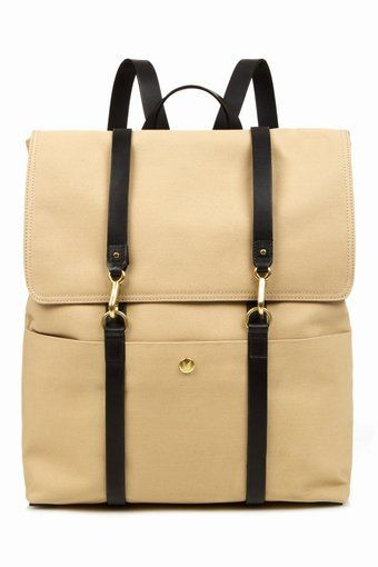 this is such a stylish yet simple bag.. i'm thinking the perfect teacher back-pack! #purse #bag