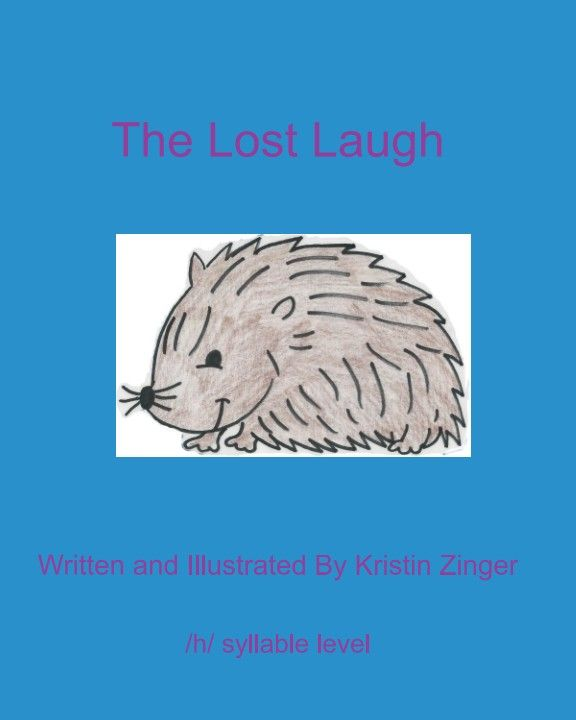 /h/ syllable level story with activities, help the hedgehog find his laugh