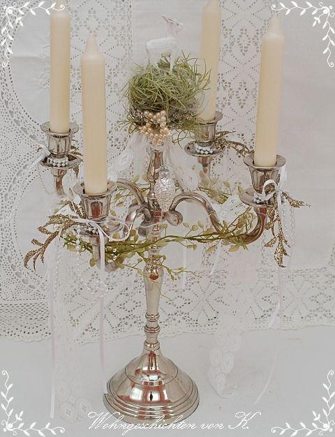 shabbychic weihnachtsdeko weihnachtsleuchter adventskranz. Black Bedroom Furniture Sets. Home Design Ideas