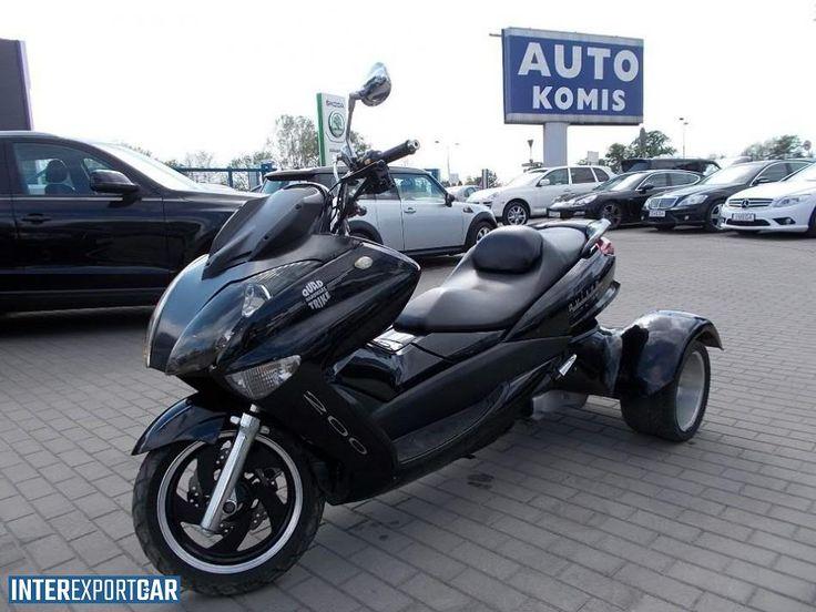 Wanjin Avispa 200 jedyny w Polsce skuter Trike