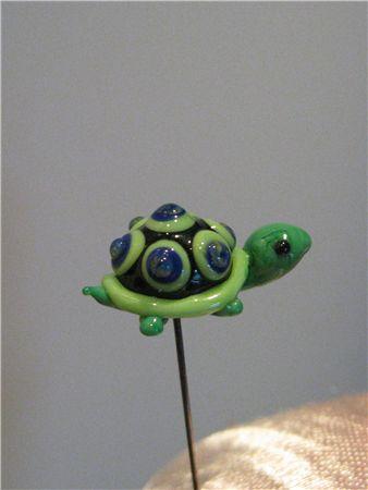 Grøn skildpadde, Dugperlas Nipsenåle