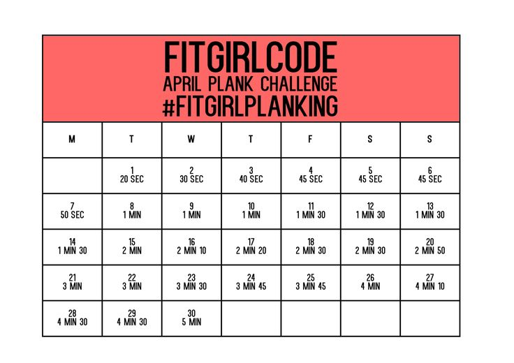 Abs, abs, abs, it's all about the abs. And a strong core of course. Try our 30 day planking challenge to strengthen yourself! #Fitgirlcode