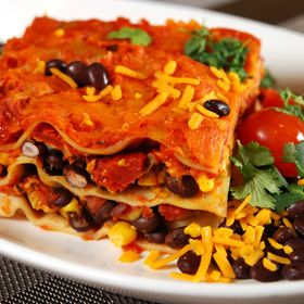 Southwestern Vegetarian Lasagna, a recipe from the ATCO Blue Flame Kitchen.