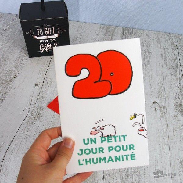 Carte D Anniversaire 20 Ans Show Lapin Cartes Pinterest