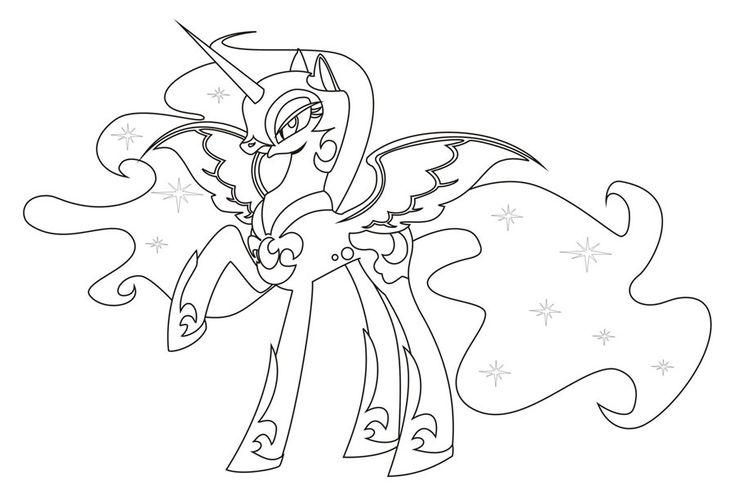 17 best My little pony coloring pages images on Pinterest ...