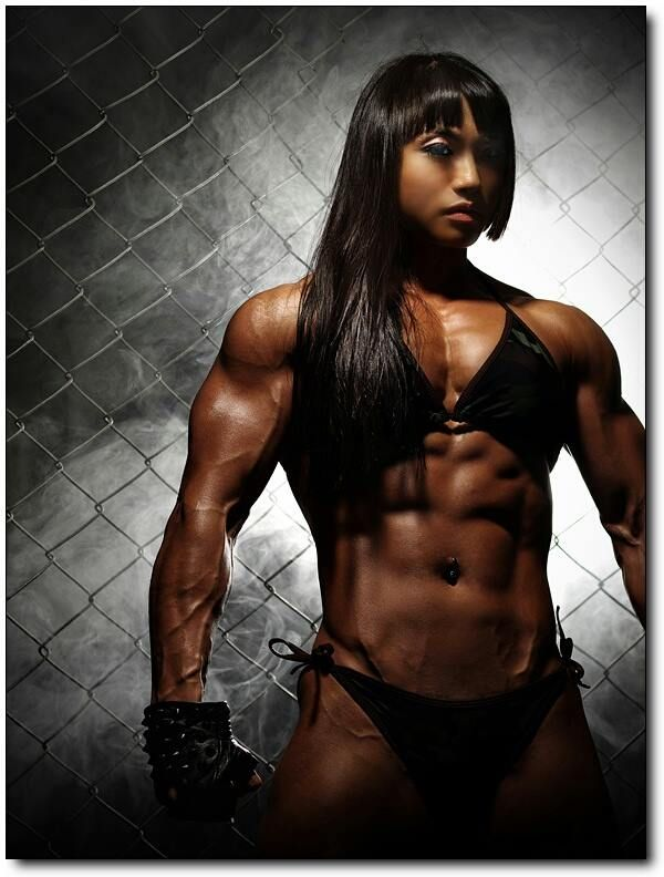 Exotic female muscle