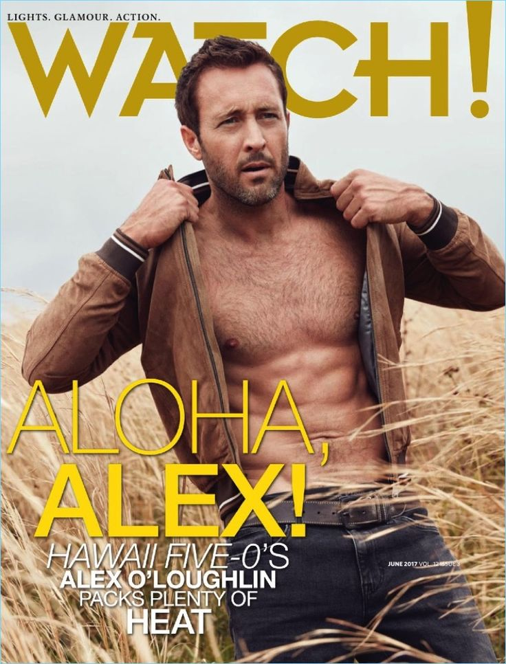 Alex O'Loughlin covers the June 2017 issue of Watch! magazine.
