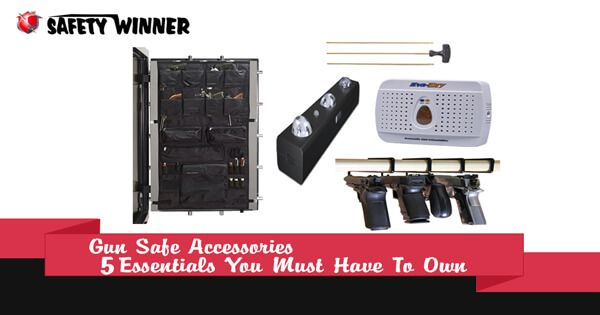 Having a few accessories you can decorate your gun safe in such a manner where you'll get more spaces and easier access to your firearm....