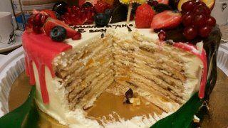 Торт Молочная Девочка с бананом 8 905 387 62 80