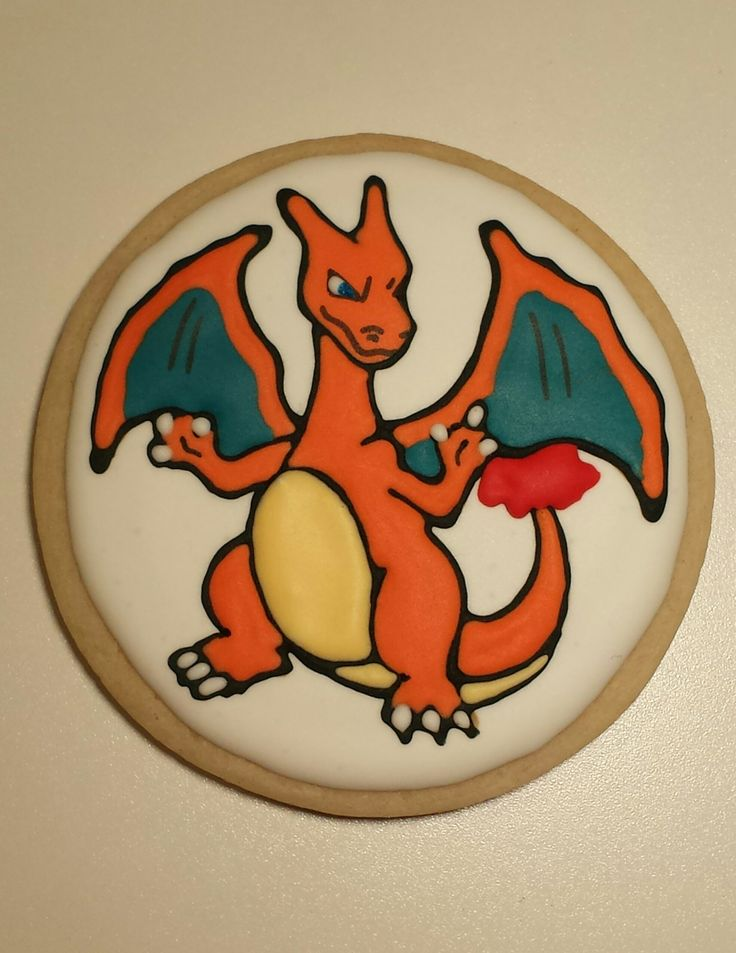 Charizard Pokemon Cookies It S All About The Cookies