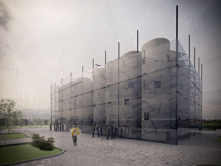 conversion of silos in Belgrade. student project DIDIC Milica