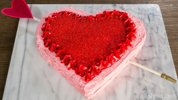 The Valentine's Day cake hack you need to know