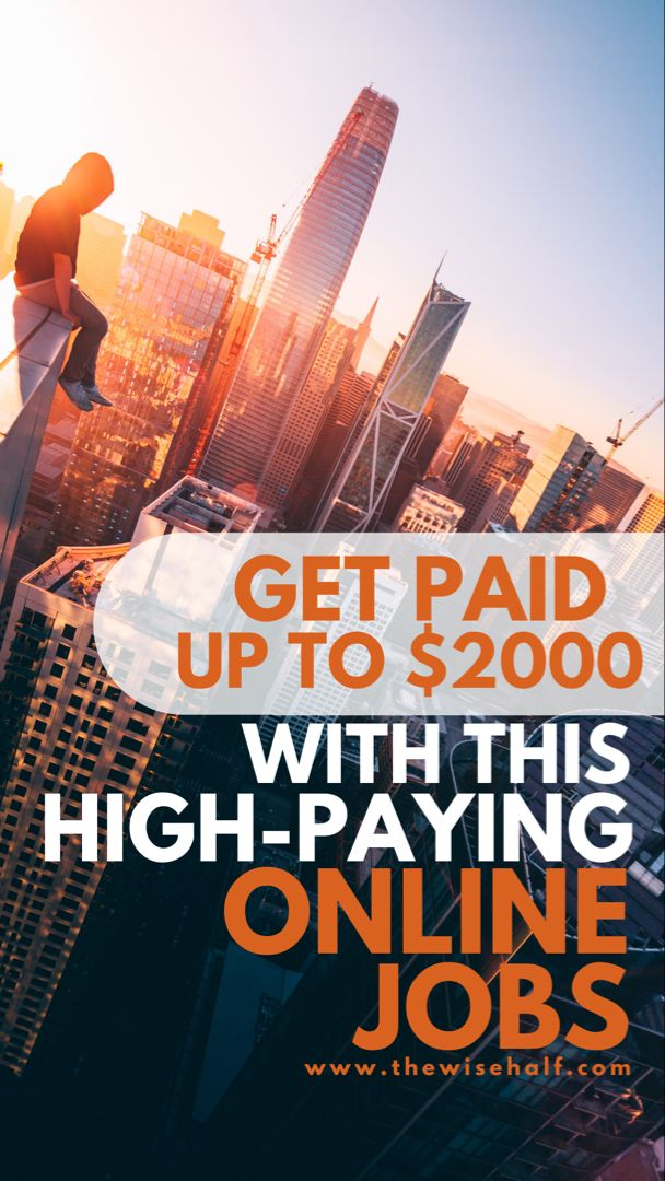 10 High Paying Online Jobs That Requires No Degree Online Jobs Online Jobs From Home Future Jobs