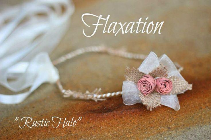 "Flaxation ""Rustic"" halo.                www.flaxation.co.nz"