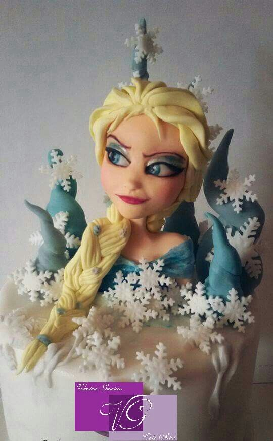Elsa Frozen #saracino #frozen #valentinagraniero #newstyle #natale