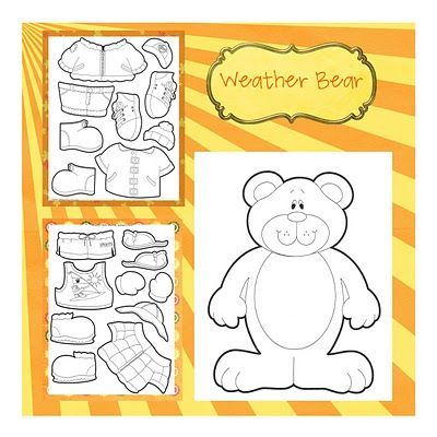 Weather Bear - I've been looking for this pattern!