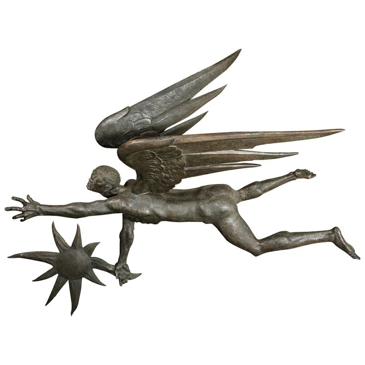 Bronze Icarus by Frank Eliscu from Greek Mythology | From a unique collection of antique and modern sculptures at http://www.1stdibs.com/furniture/more-furniture-collectibles/sculptures/
