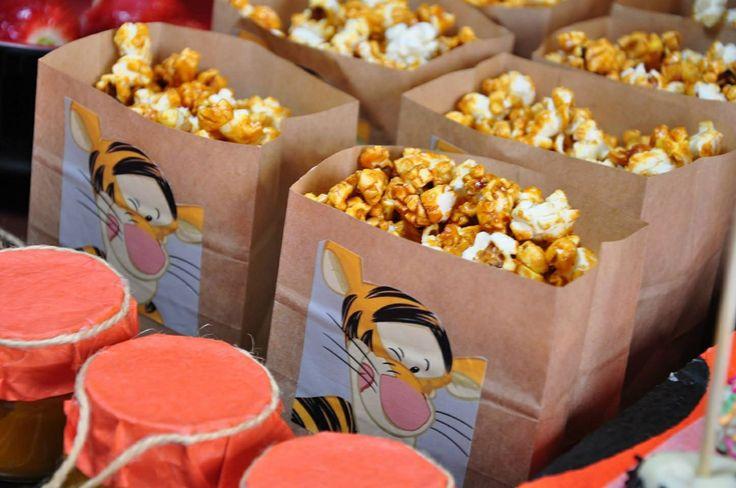 Popcorn caramelo do tigrao