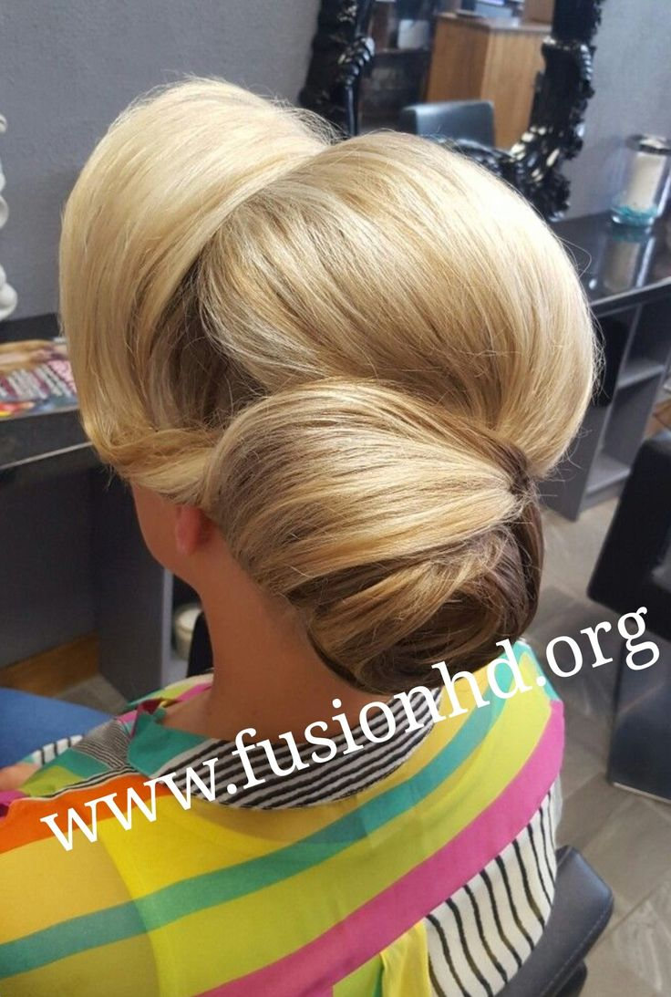 Elegant updo with bun perfect wedding style #fusionhd