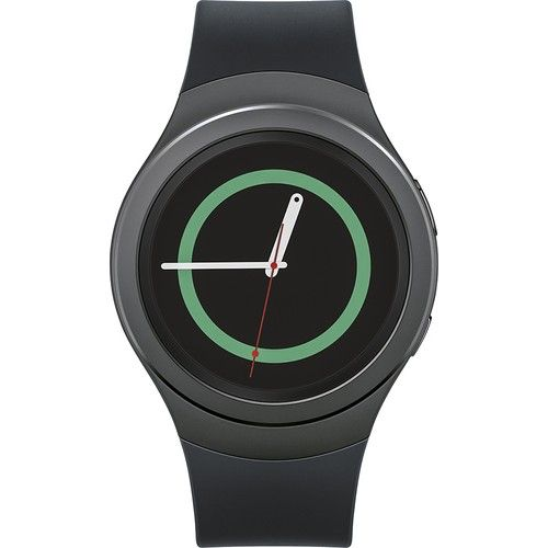"Stay connected even when you're away from your phone with this smartwatch, which receives texts, e-mails and notifications and features S Health and Nike+ Running integration to track your health and fitness. The 1.2"" Super AMOLED touch screen makes it easy to navigate apps and Web pages."