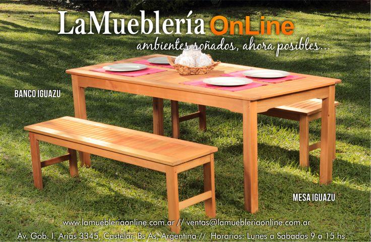 Muebles de jardin ecomadera para conocer los precios - Catalogo muebles de jardin ...