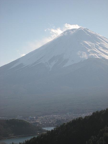 富士山(御坂峠から)