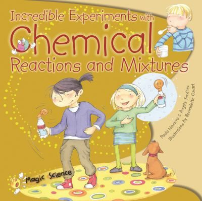 Presents 16 simple experiments that can be performed with common objects found around the house. The book explores concepts like water density, oxidation, and more are explored using simple household materials.