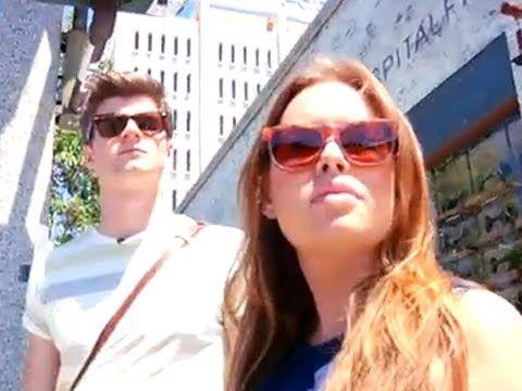 Jim Chapman and Tanya Burr YOUTUBE -LaKirbyViris