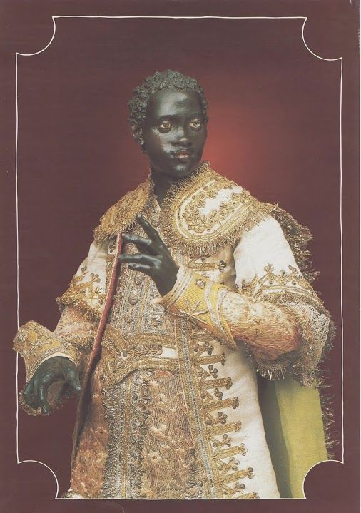 Walter Di Meo - Google+ - Neapolitan Nativity Scene. The Moor King. Image scanned and…