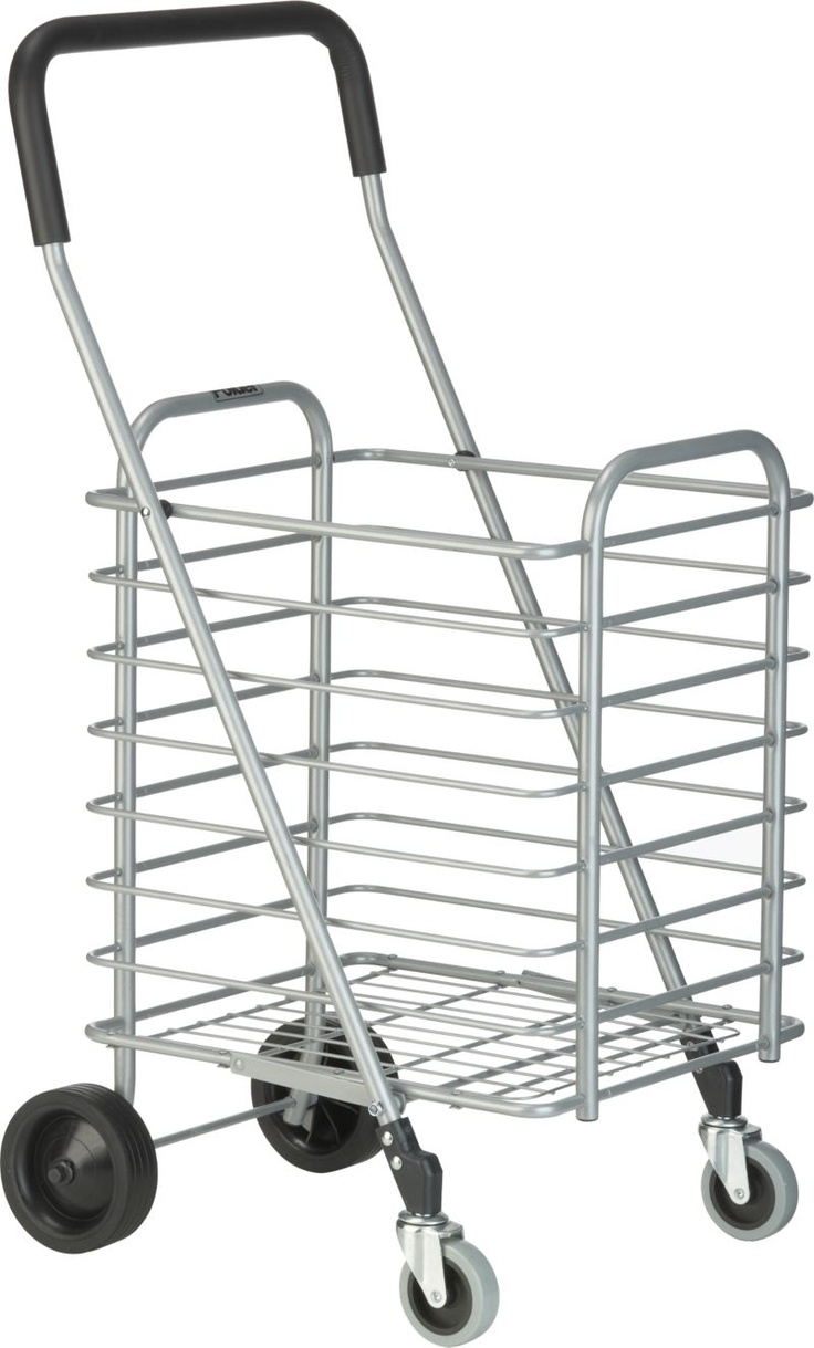 Folding Shopping Cart in Travel, Bags, Carts | Crate and Barrel