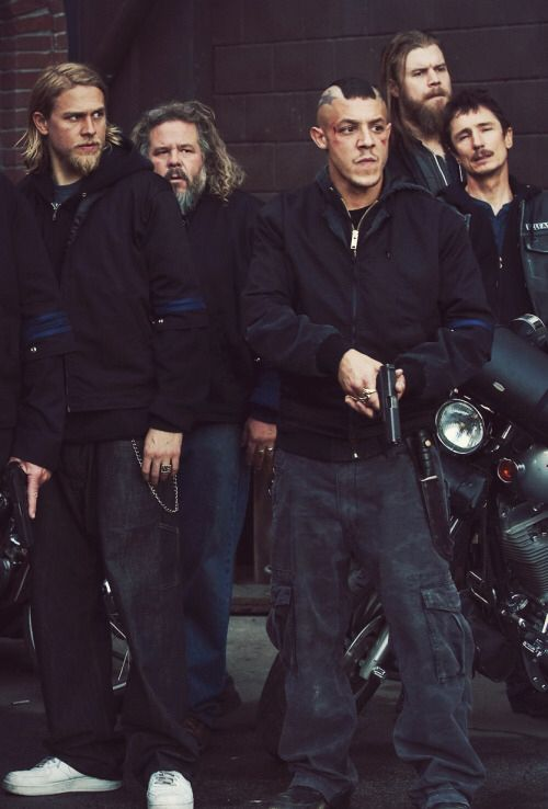 SAMCRO\\ Juice looks like he's about to pop someone. Love it.